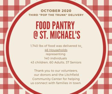 Food Pantry @ St. Michael's