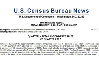 Q4 2017 US E-Commerce Sales Update