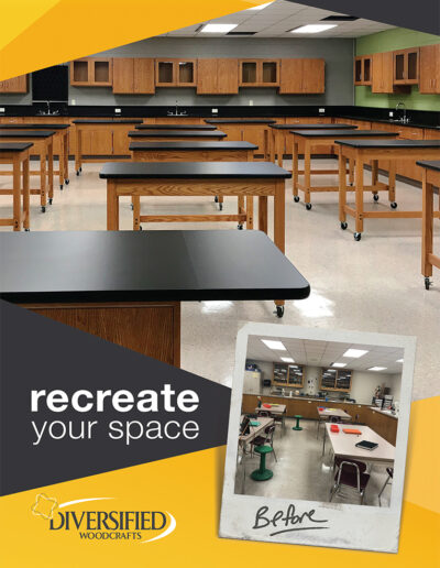 Diversified Woodcrafts recreate your space