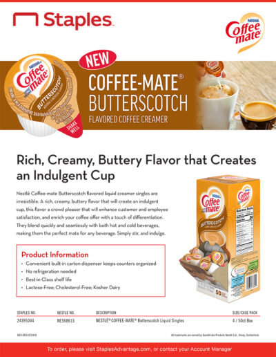 Coffee-mate Butterscotch Creamer
