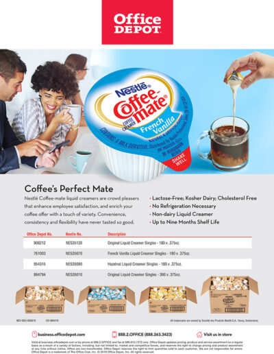 Coffee mate Office Depot