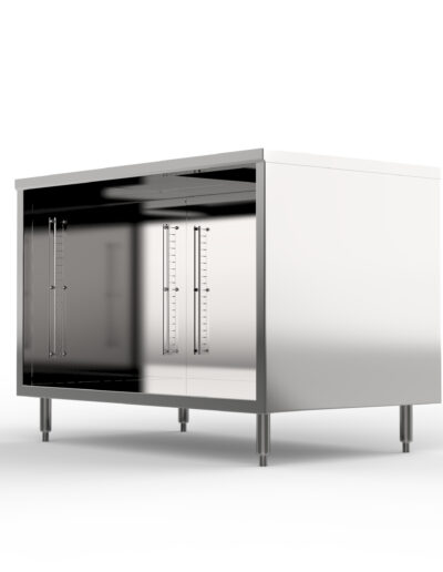 BK Resources Stainless Steel Cabinet