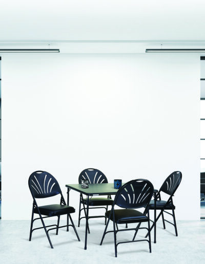 Samsonite Chairs and Table in office setting