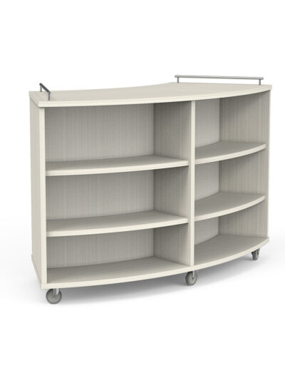 Radius Book Storage Exposed Caster