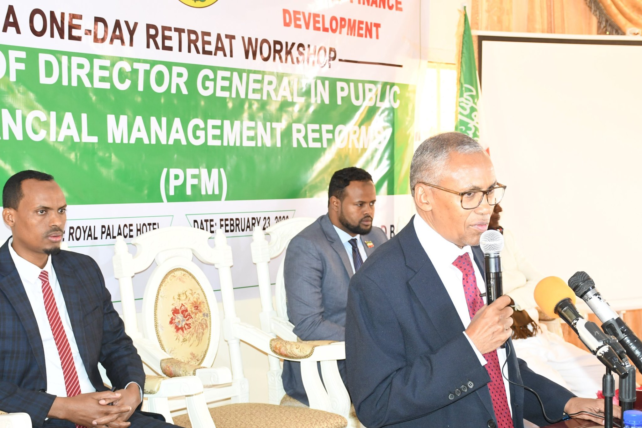 A One-Day Retreat Workshop on Role of Director Generals in Fulfilling PFM Reforms