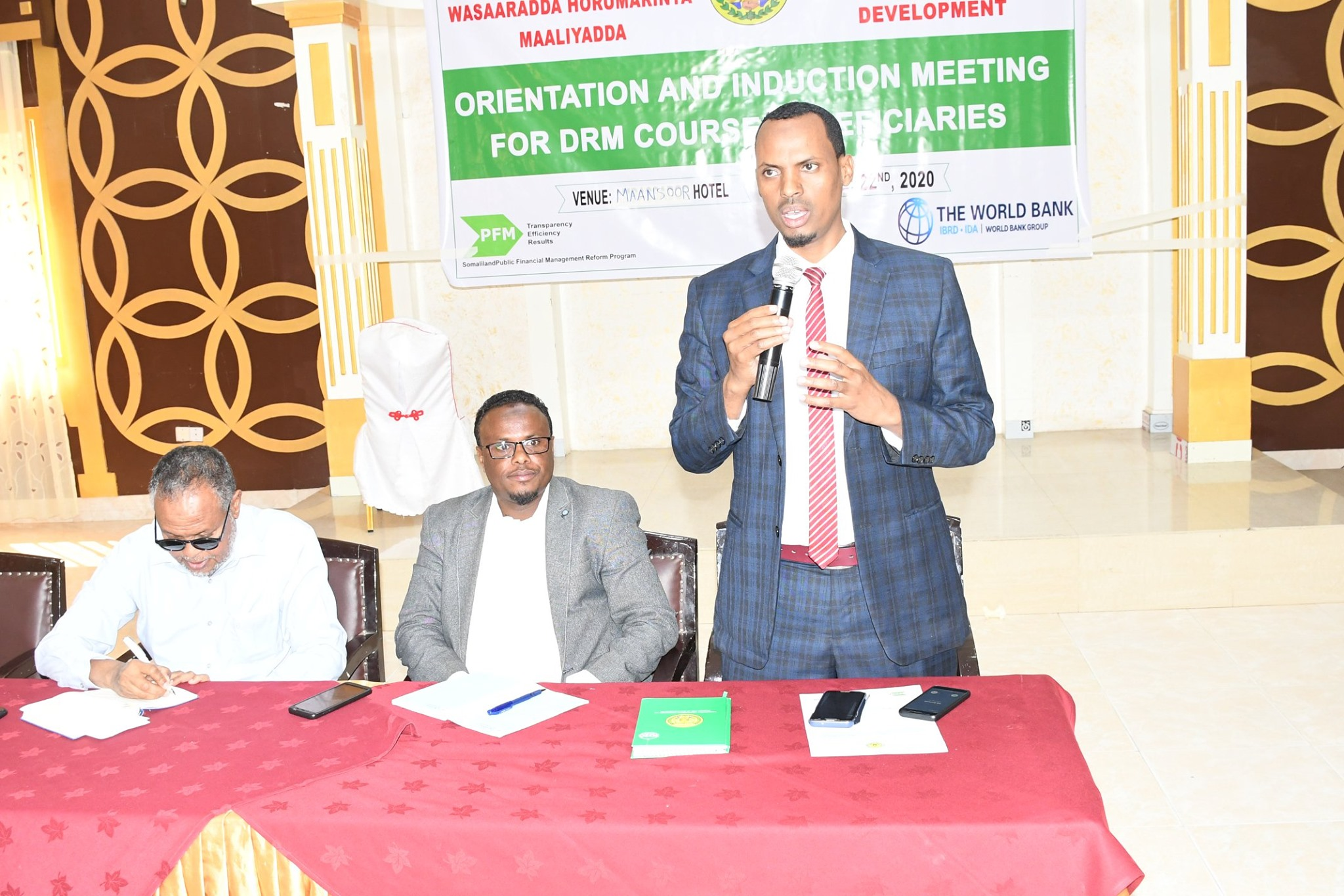 Orientation and Induction Session for Domestic Revenue Mobilization (DRM) Training Course Beneficiaries