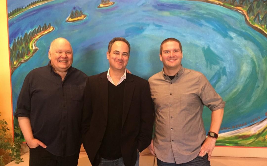 John Krivit, AES President, visits Gateway Mastering Studios.