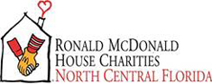 Ronald McDonald House Charitiies North Central Florida logo