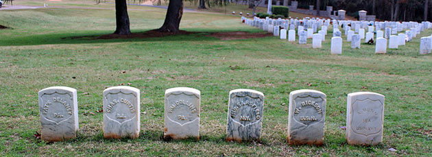 Graves of the Andersonville Raiders - Source: 65mb