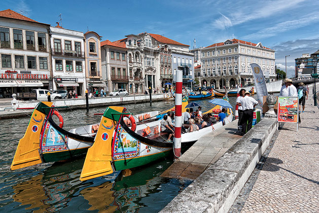 "Aveiro: ""the Venice of Portugal""  Photo source: Leonardo Del Prete"