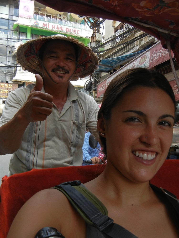Hanoi Vietnam Cyclo Driver