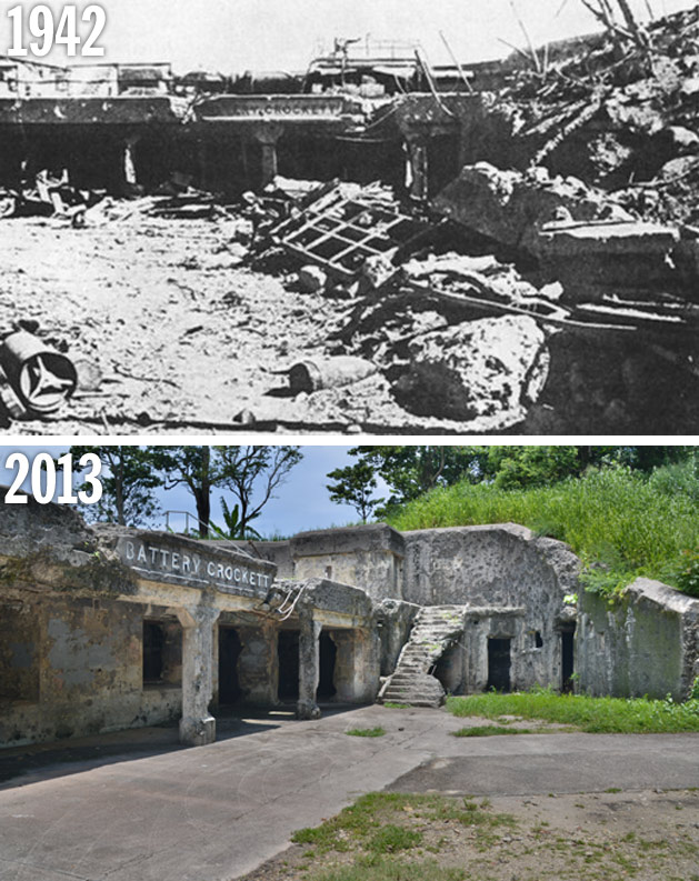 Battery Crockett: Then and Now