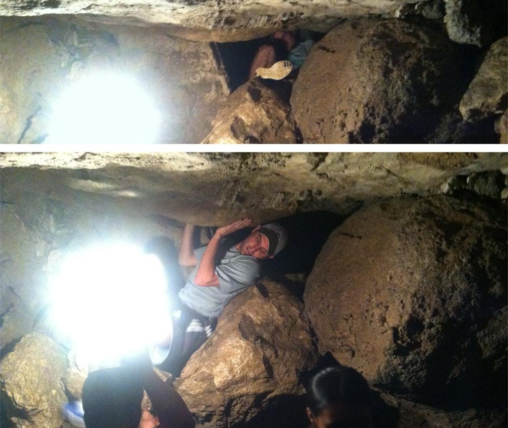 caving-hole