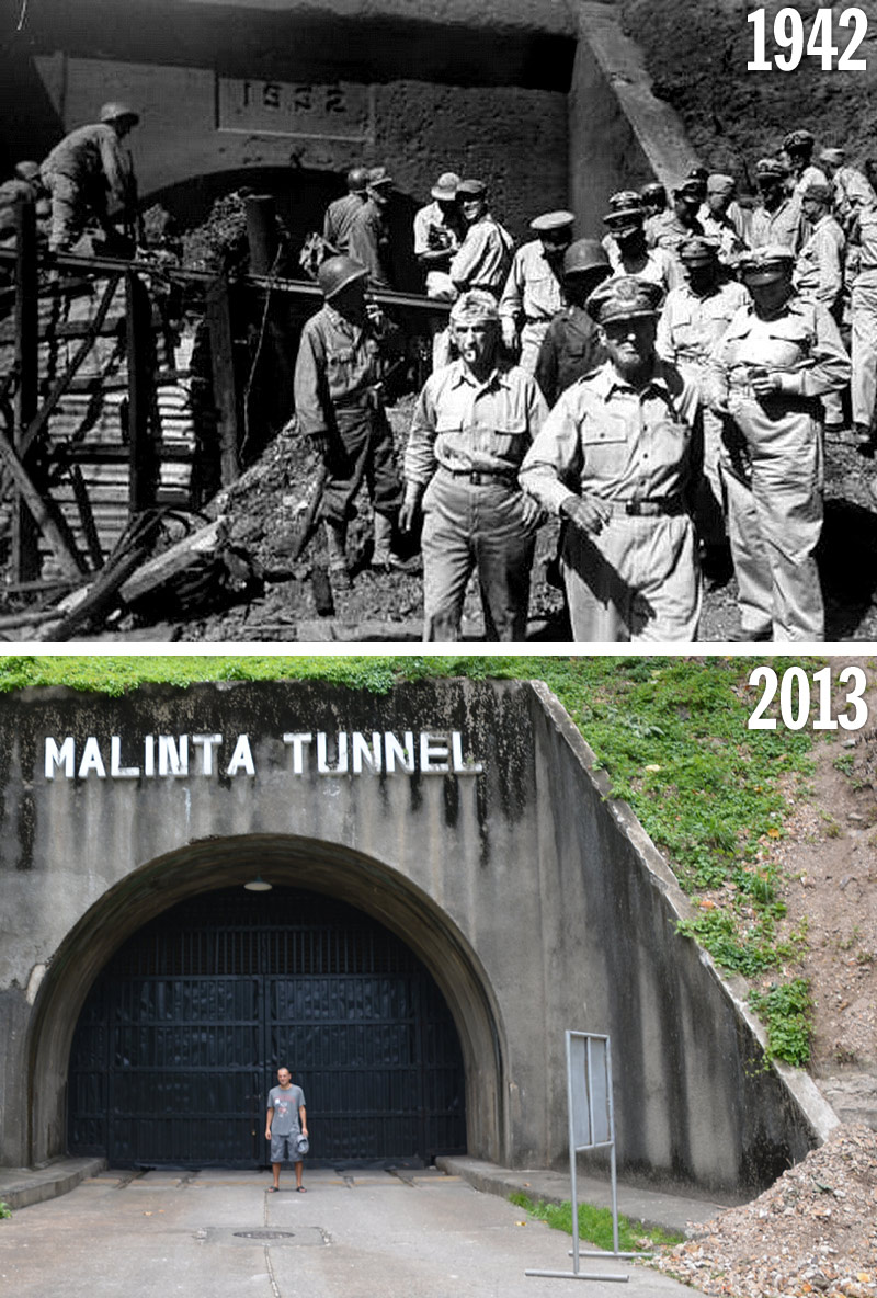 Malinta Tunnel: Then and Now