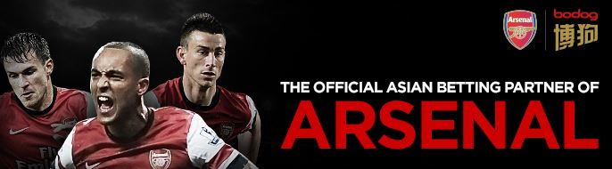 arsenal sports betting