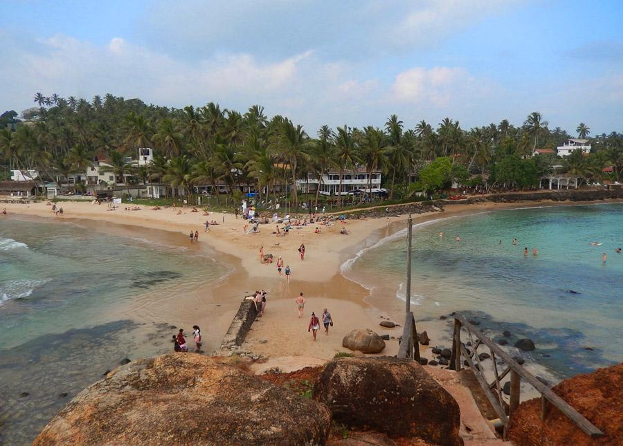MIrissa's beach.