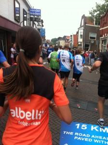 Touring Dutch villages via 16K Dam-to-Dam race