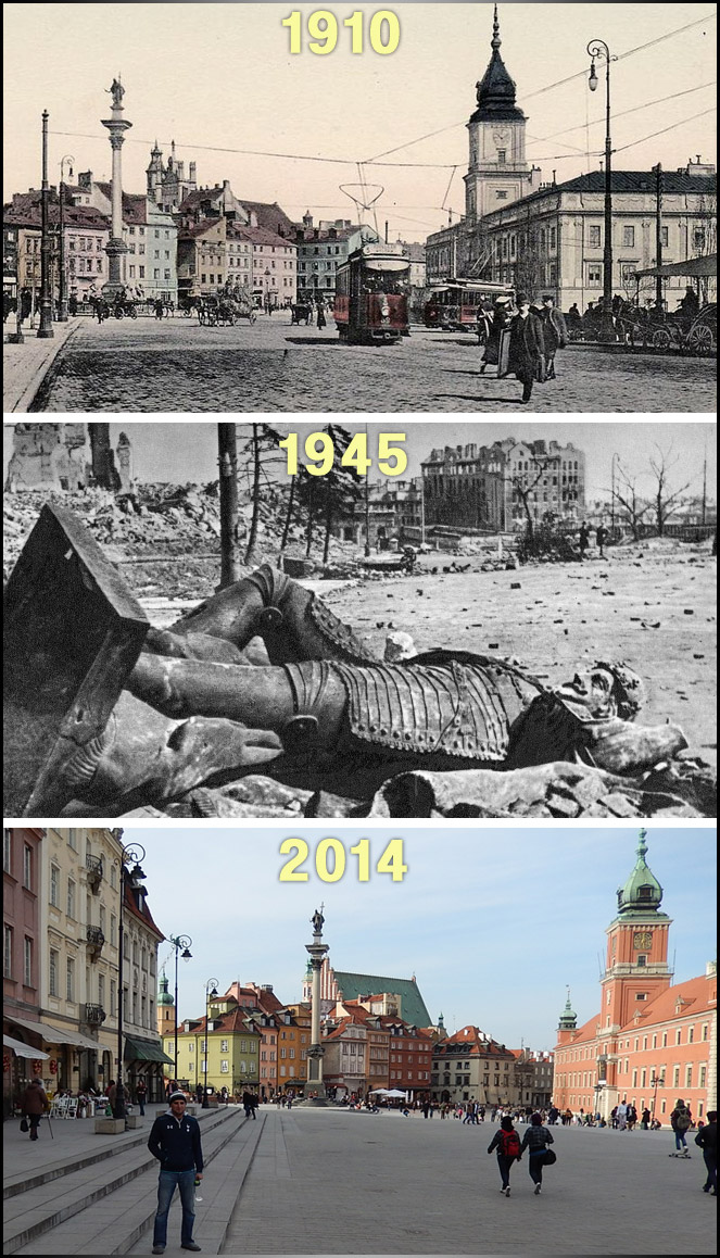 warsaw-castle-square-then-now