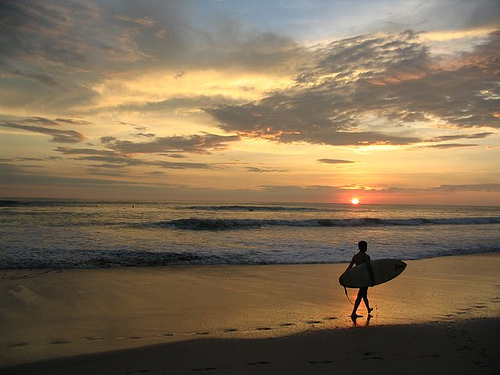 photo credit: Another Day of Surfing Ends in Mal Pais (Costa Rica) via photopin (license)