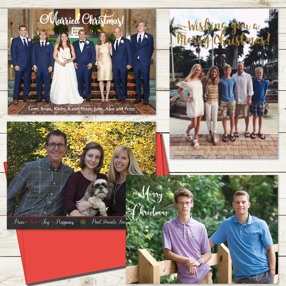 Lafayette Papers Custom Holiday Photo Cards