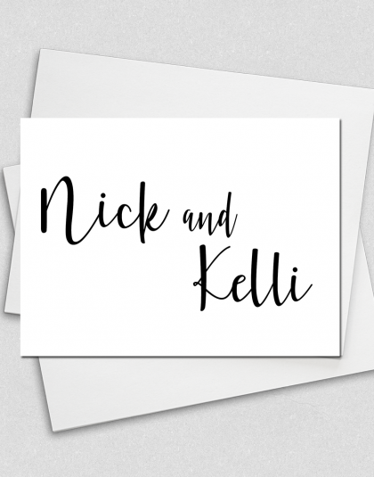 Couples Note Cards