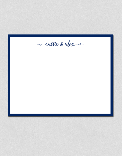 personalized couples note cards