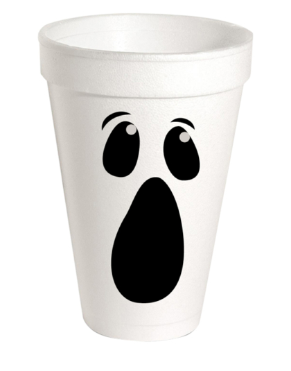 party cup ghost face