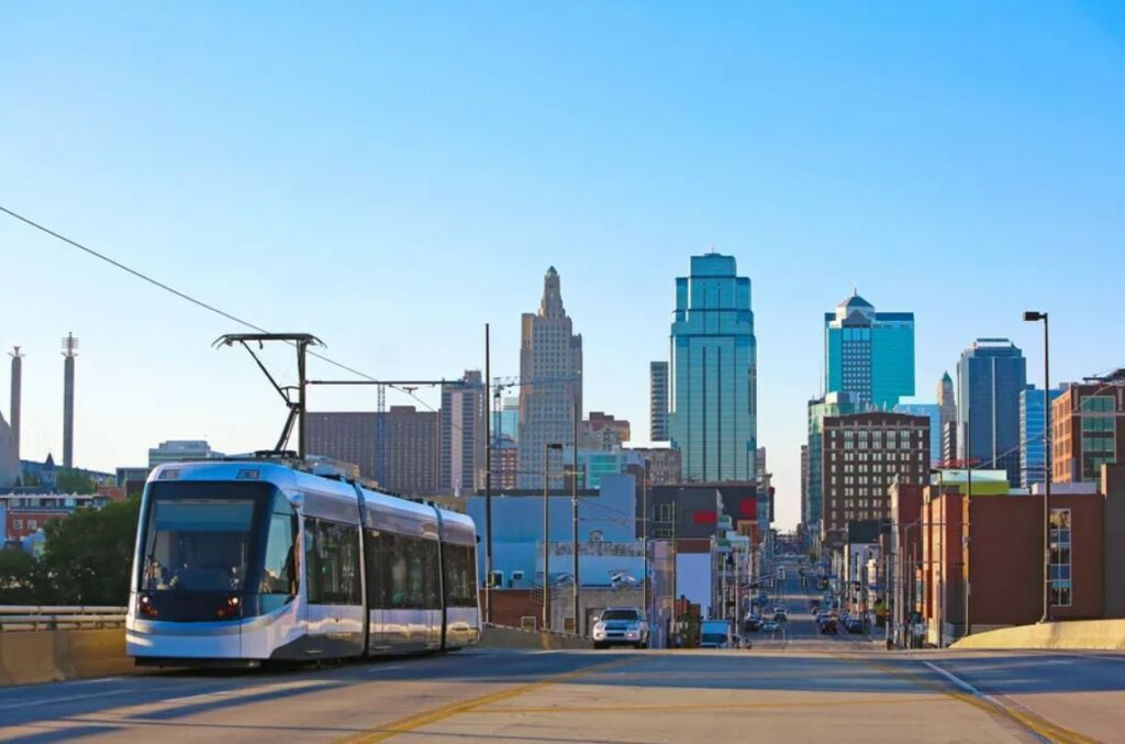 KCATA Train, Kansas City, MO