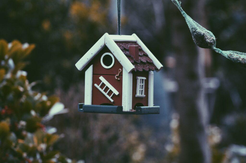 Photo of a birdhouse