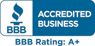 We are rated A+ by the Better Business Bureau.
