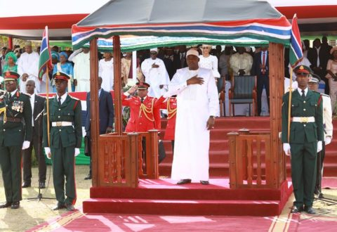 Gambian President  relaxes night curfew and market restriction
