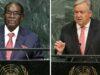 UN chief praises Mugabe's role in fighting apartheid
