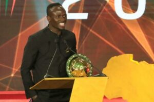 Sadio Mane named Caf African Player of the Year