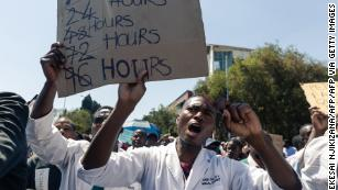 Zimbabwe's richest man pays striking doctors to return to work