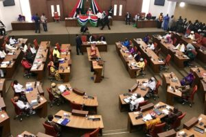National Assembly claims reporters were barred due to coronavirus concerns