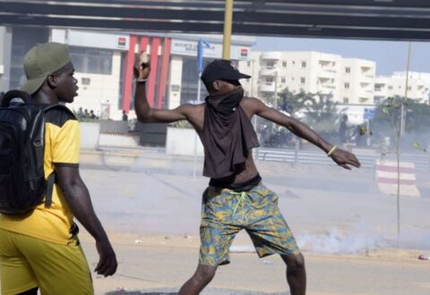 Gunfire erupts in Guinea as President Alpha Conde heads for third term
