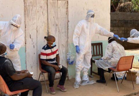 Four Covid-19 patients escaped to Senegal