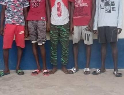 Five burglary suspects arrested in Mandinaring Village