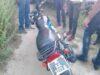 Man abandoned 'stolen' motorbike after seeing police patrol