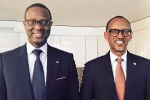Kagame appoints Ivorian Tidjane Thiam to head Rwanda Finance corporation