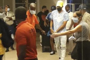 CAF probes  Gabon football team Banjul airport incident