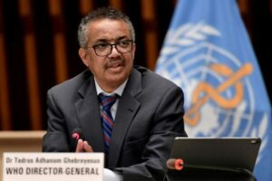 WHO chief warns of 'moral failure' in vaccine distribution