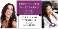 Free Teeth Whitening Kit, Nov 2020
