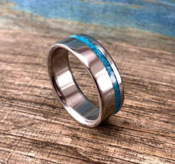 Men's Turquoise Ring