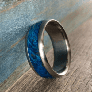 Blue box elder ring