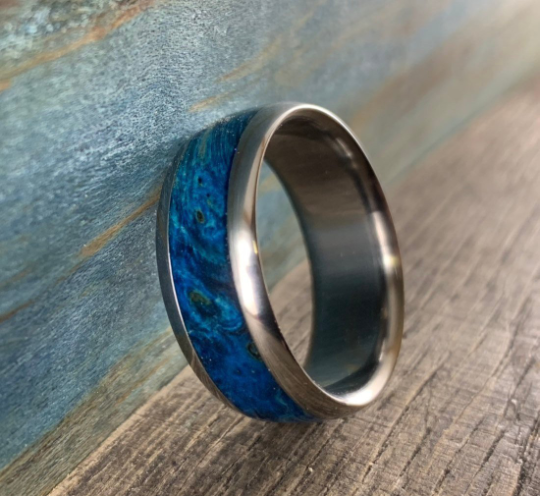 Blue box elder ring