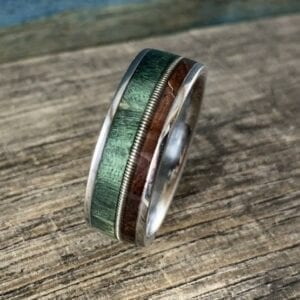 Men's Guitar String Ring