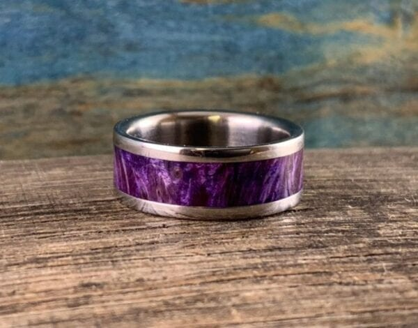 purple box elder ring
