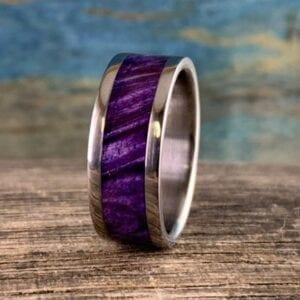 purple box elder ring
