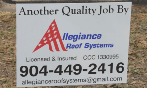 quality Job By Allegiance Roofing Systems